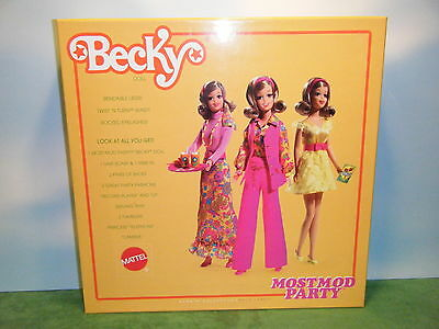 Barbie Most Mod Party Becky Doll Box Only
