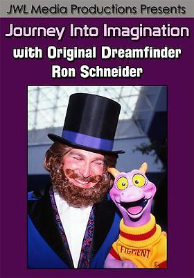 Epcot Journey Into Imagination w/ Original Dreamfinder Ron Schneider DVD Disney