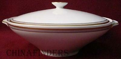 HEINRICH china PROMINENZ pattern COVERED VEGETABLE Serving BOWL with LID