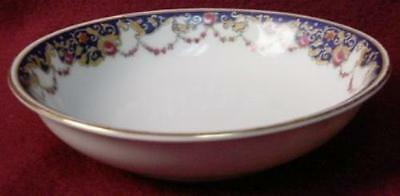 ROYAL BAYREUTH china ROB2 Blue Border pattern FRUIT dessert sauce BERRY BOWL