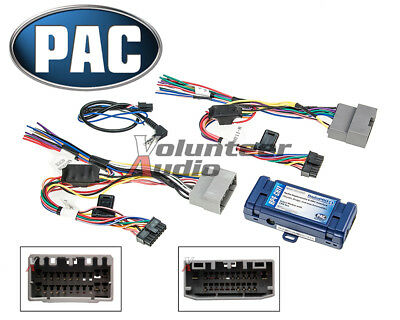 PAC RP4-CH11 Select Chrysler Radio Interface + Steering Wheel Control Retention