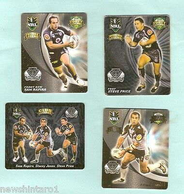 2008  Rugby League  Tazos  -  New Zealand Warriors