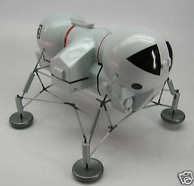 Moon Mobile Anderson UFO Spacecraft Mahogany Kiln Dry Wood Model Large New