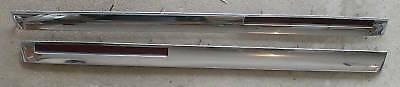 1961 Cadillac Int Front Door Panel Lower Trims w/Lenses