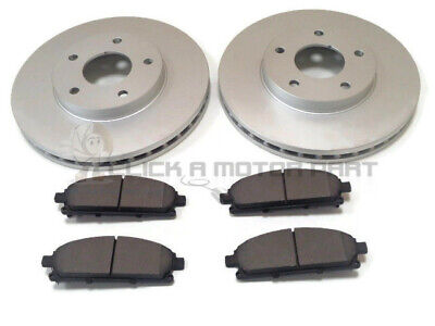 FOR NISSAN X-TRAIL XTRAIL 2.0 2.2 DCi 2.5 SPORT + SVE FRONT 2 BRAKE DISCS & PADS