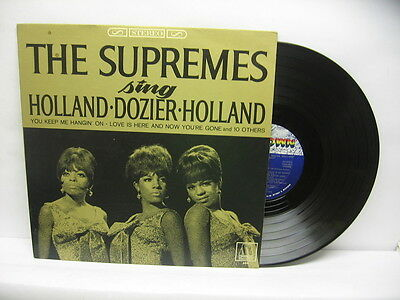 The Supremes sing Holland Dozier Holland   (Vinyl LP)