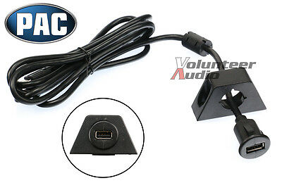 PAC USBCBL 6ft USB Extension Cable with 2 Mounting Brackets