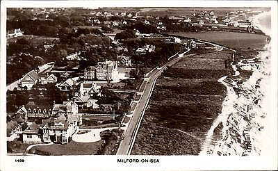 Milford on Sea by Aero Pictorial # 1459. Aerial View.