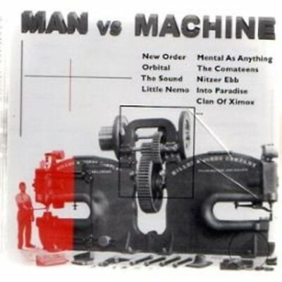 Man vs. Machine - NEW ORDER NITZER EBB ORBITAL 2CD NEU