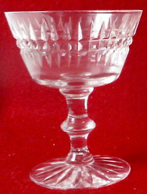 TIFFIN Crystal SURREY pattern CHAMPAGNE /  SHERBET Glass