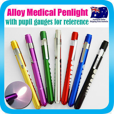 Penlight Medical Diagnostic Pen Light Neuro Torch+Pupil Gauge For Nurse Doctor