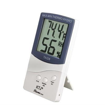 Digital LCD Humidity Hygrometer Temperature Thermometer Meter Room Indoor Outdoo