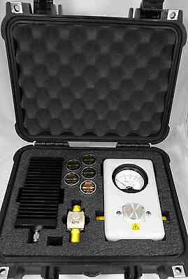 Bird 43 Wattmeter Deluxe Pelican Case Larger than CC-6 CONTENTS ARE NOT INCLUDED