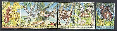 1995 Cocos Islands Insects Fine Mint Muh/mnh