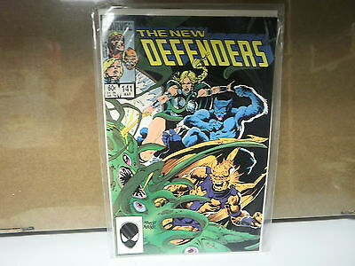 L4 Marvel Comic The New Defenders Issue 141 March 1985 New In Bag