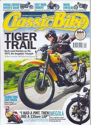 CLASSIC BIKE-SEPTEMBER 2012- (NEW)*Post Included To UK/Europe/USA/Canada