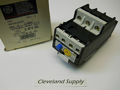 General Electric Rtn1D Overload Relay 0.40-0.65A New Condition In Box
