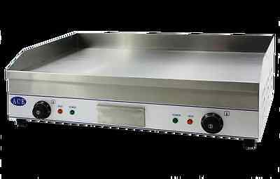 NEW ACE LARGE 75cm HOTPLATE Electric Griddle Large Flat 2 x 13amp plugs 10mm bed