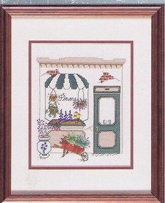 Flower Shop Cross Stitch Chart