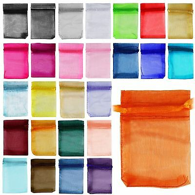 Hot Sell Fashion New Organza Jewelry Packing Pouch  Favor Gift Bags For Wedding