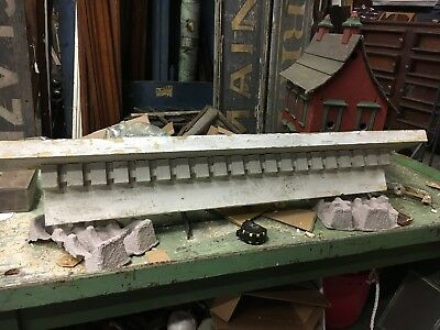 c1870 DENTIL style WINDOW pediment VICTORIAN lintel ~ header 56 x 6.5 x 9""
