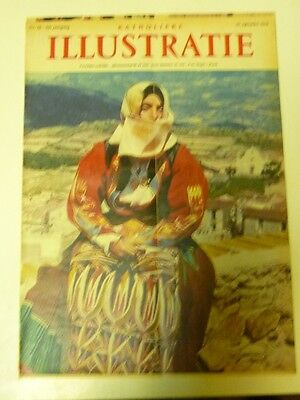 Dutch 1958 magazine clipping cover + 2 pp:  Sardinia