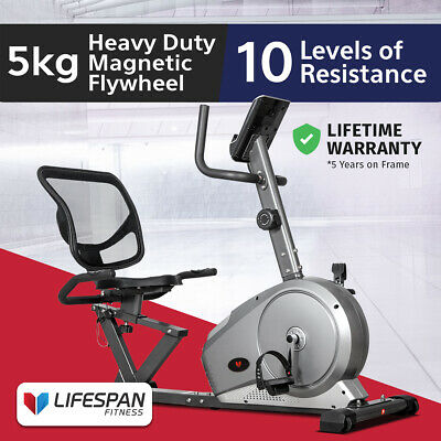 Lifespan New Exercise Recumbent Bike #Magnetic Resistance Home Gym
