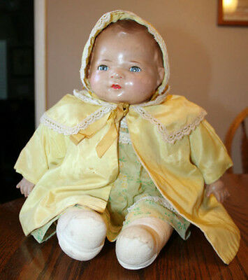 "17"" American Character Little Love Antique Baby Doll"