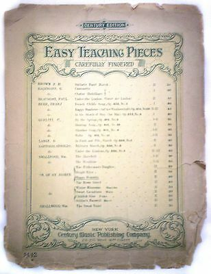 Easy Teaching Pieces: Happy Moments Songbook/1909 Century Music Publishing