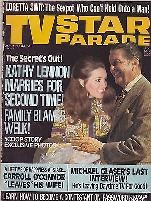 JAN 1974 TV STAR PARADE vintage movie magazine LAWRENCE WELK