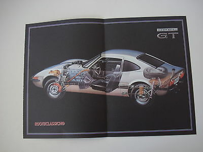 - Poster Anno 1992 - Opel Gt