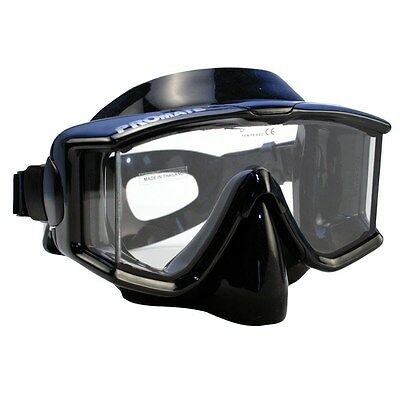 NEW Panoramic Silicone Purge Mask Scuba Dive Snorkeling