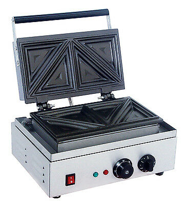 ACE Commercial Large Double Toastie Maker Contact Toated sandwich bread