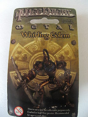 Mageknight Mage Knight Whirling Golem Limited Edition