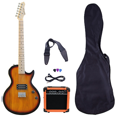 Beginner Electric Guitar Package Amp Case Strap Picks Tuner Starter Pack Davison