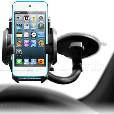 IN CAR WINDSCREEN WINDOW SUCTION HOLDER MOUNT CRADLE FOR APPLE iPOD TOUCH 5 5G