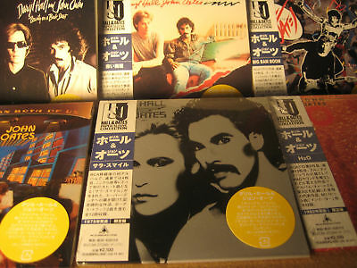 HALL & OATES RARE JAPAN OBI Replica K2 24BIT MASTERED COLLECTION 7 RARE 02 CDS