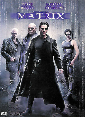 The Matrix ~ Laurence Fishburne Keanu Reeves ~ New Factory Sealed DVD FREE Shipp