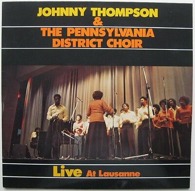 LP - Johnny Thompson & Pennsylvania District Choir - Live 1977