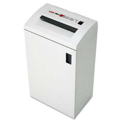 HSM of America Classic 108.2 Strip-Cut Shredder Shreds Up To 24 Sheets 13-Gallon