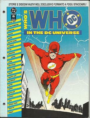 WHO'S WHO IN THE DC UNIVERSE n° 2 (Play Press, 1991)