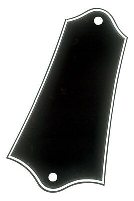 NEW - Truss Rod Cover For Gibson - 3-PLY BLACK