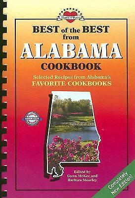 Best of the Best from Alabama Cookbook -BRAND NEW