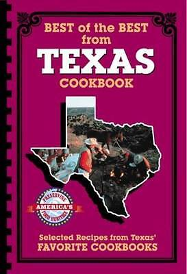 Best of the Best from Texas Cookbook -BRAND NEW