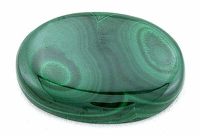 83.38 Carat Oval Green Natural Africa NO DYE Malachite Cab Cabochon Gem T4A44A