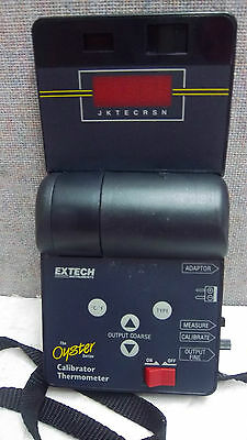 Extech The Oyster Calibrator Thermometer F060392 Used Oyster