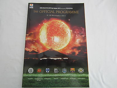2011 Fifa  Official Club World Cup Programme