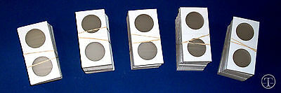 Pack of 100 BCW 2.5 x 2.5 Cardboard Crown Silver Eagle Size Coin Flips holders