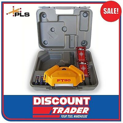 PLS Floor and Tile Square Layout Laser for the Professional Tile Contractor FT90