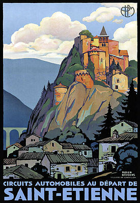 TX358 Vintage Grasse France French Travel Poster Broders Re-Print A3//A4